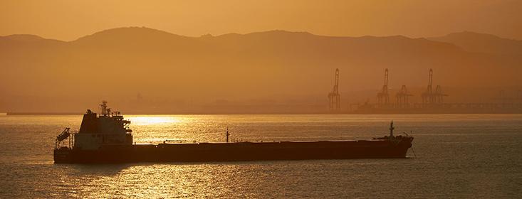 Oil Tanker Tanker Sunset Sea